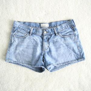 Old Navy Light Wash Denim Short Shorts